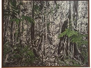 Obra de arte da artista Cassia Acosta mata na Galeria de arte arte12b