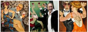 Obras de Juarez Machado em suas diversas fases