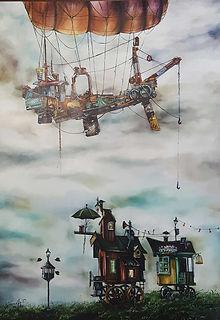 cassia acosta, artista surrealista, gramado, arte gramado, galeria de arte, arte contemporanea gramad