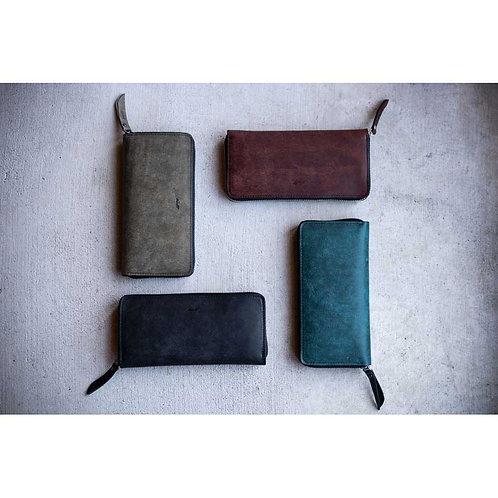 Pueblo Round zip wallet
