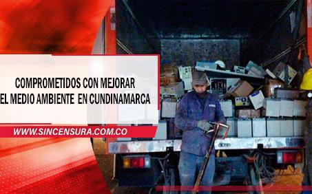 Éxito total  recolecta de residuos en Cundinamarca