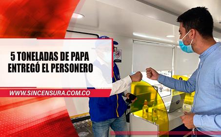 Personero de Fusagasugà, Fernando Martínez, Es buena papa.