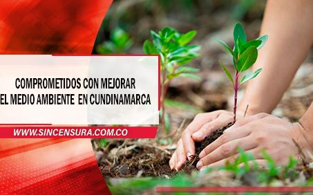 Cundinamarca le apuesta al medio ambiente