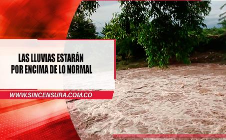 Cundinamarca en alerta naranja por temporada de lluvias