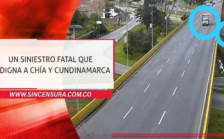Quedó libertad conductor que atropelló y mató a ciclista en Chía