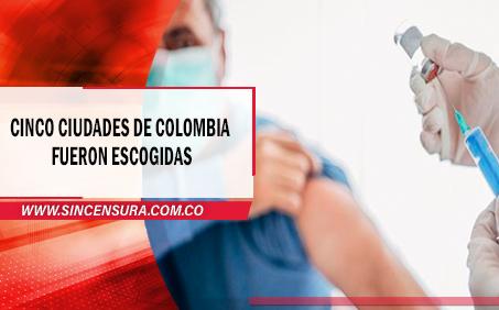 En Fusagasugá se realizara ensayo de vacuna contra el Covid-19