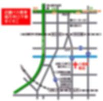 八尾東教会地図