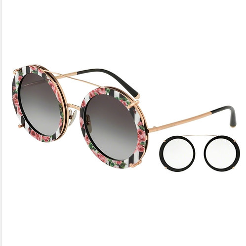 Dolce & Gabbana DG 2198 1298/8G Size:63