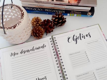Como usar o planner Mulheres que Edificam