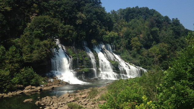 Waterfall Wednesday: Twin Falls, Rock Island, TN