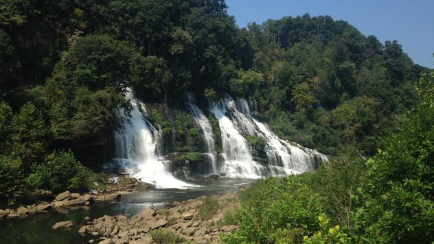 Waterfall Wednesday: Twin Falls, Rock Island, TN