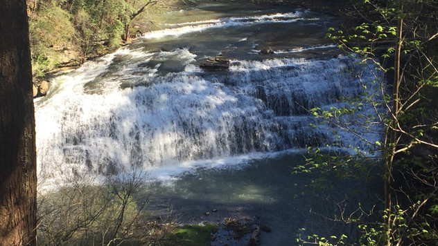 Waterfall Wednesday: Burgess Falls, Sparta, TN