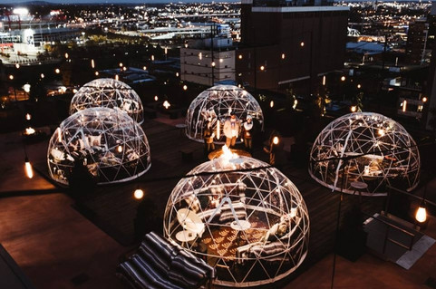 Walking in a Winter Wonderland: a Visit to the Igloos atop the Bobby Hotel