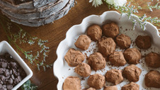 Love at First Bite: Chocolate Kahlúa Truffles
