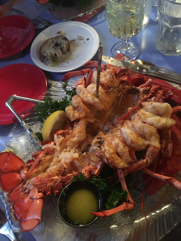 Three Cities, Three Words. . . Kennebunkport: Mabel's Lobster Claw
