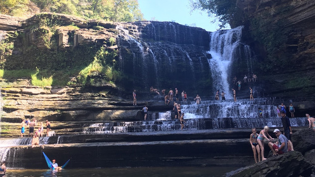 Waterfall Wednesday: Cummins Falls, Cookeville, TN