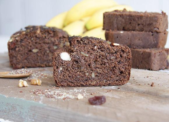 Vegan Bananenbrood in diverse smaken