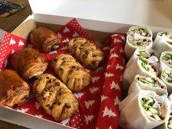 Flora's Kitchen lunch - luxe broodjes