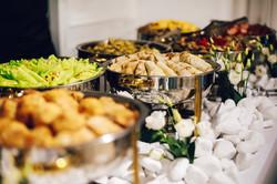 Fora's Kitchen buffet 1