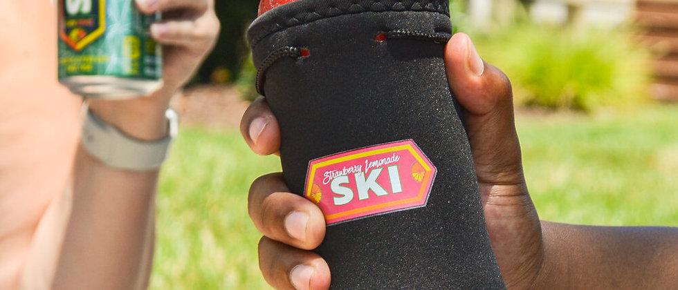 Strawberry Lemonade SKI Bottle Koozie