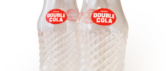 DOUBLE COLA Retro Salt and Pepper Shakers