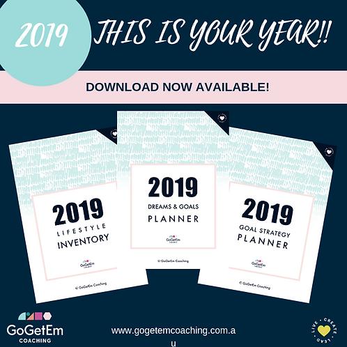 2019 Goal Planning Pack