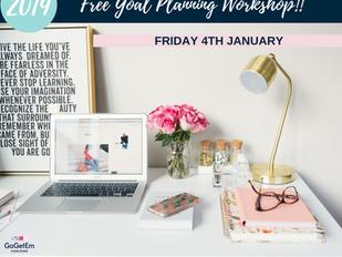 FREE 2019 Goal Planning Workshop