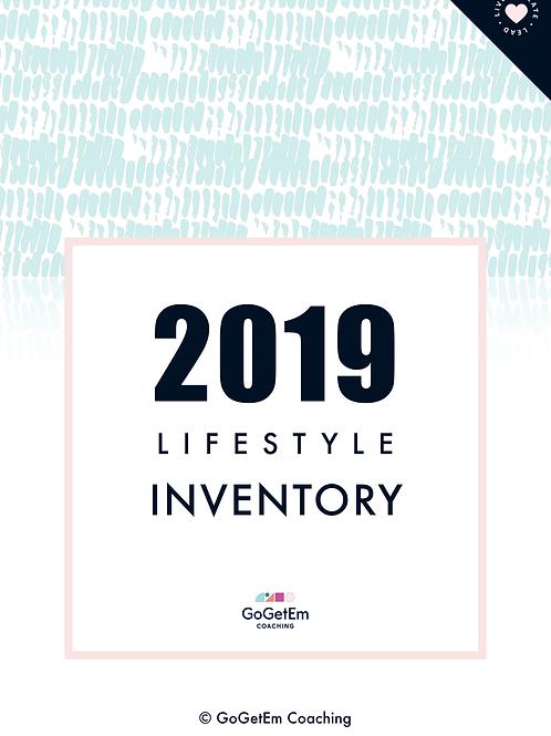 2019 Lifestyle Inventory