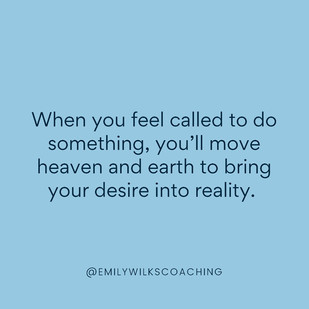 Are you ready to bring your desire into reality?