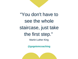 Just one step in the right direction each day is all you need to achieve incredible things!