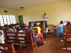 Training village health workers