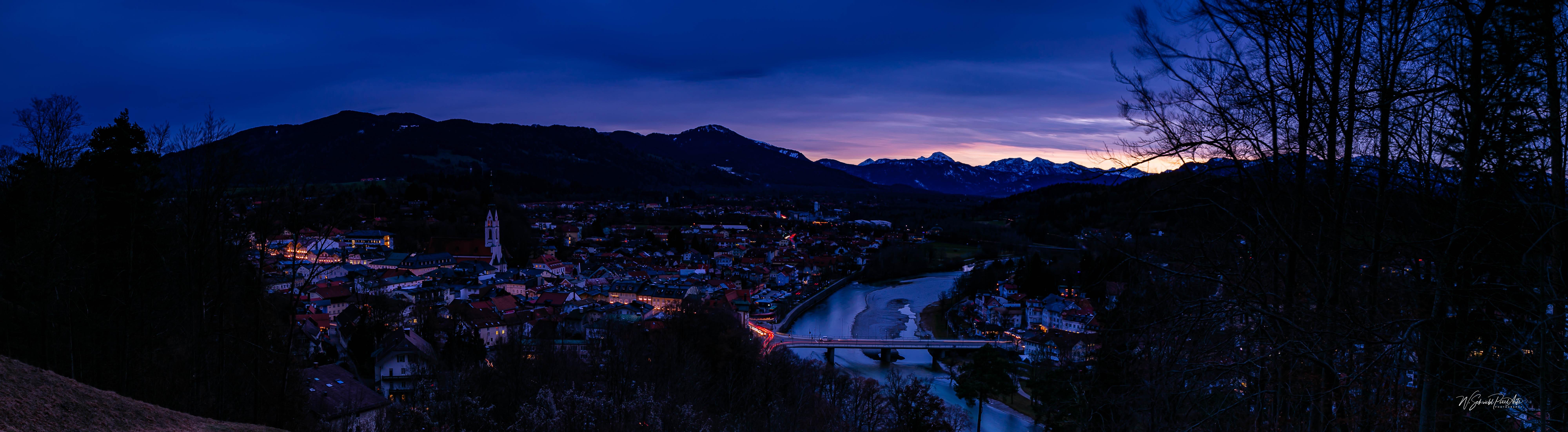 Bad Tölz - blaue Stunde