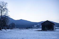 Winterlandschaft Schlehdorf