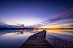 Sonnenuntergang Starnbergser See