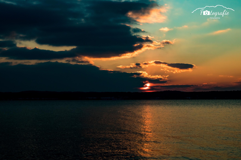 Sonnenuntergang Buchscharn