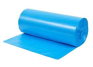 poietileno vci anticorrosivo bobina plástica saco plástico azul