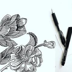 Evening sketching 🖊 ._._._._._._._._._._._._._.jpg
