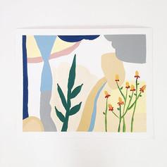 Alpine _ 16x20 _ acrylic on mat-board _#painting #paint #acrylicpainting #acrylic #abstract #abstractpainting #abstractlandscape #southweste