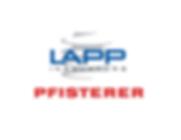 Lapp Pfisterer combined logo