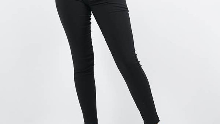 Front Zip Stretch Twill - 42pops