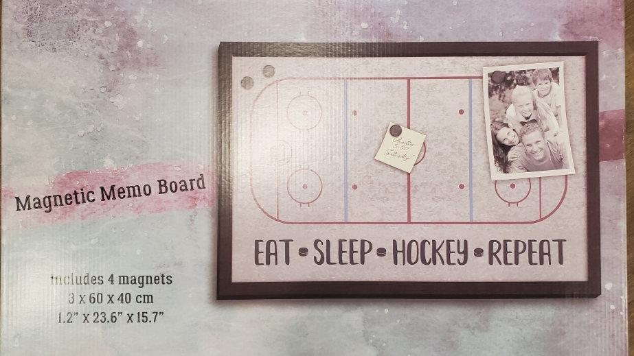 Magnetic Hockey Rink memo board