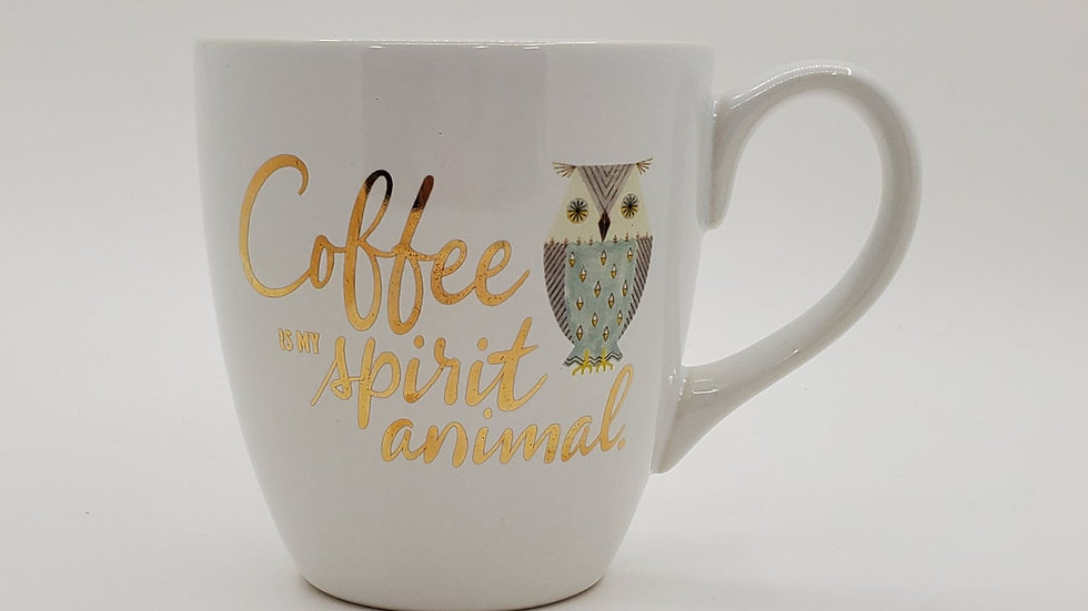 Coffee is my Spirit Animal mug