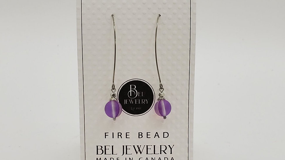 Fire Bead earrings