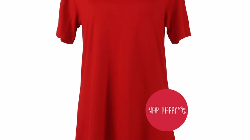 Hello Mello Tee - Red