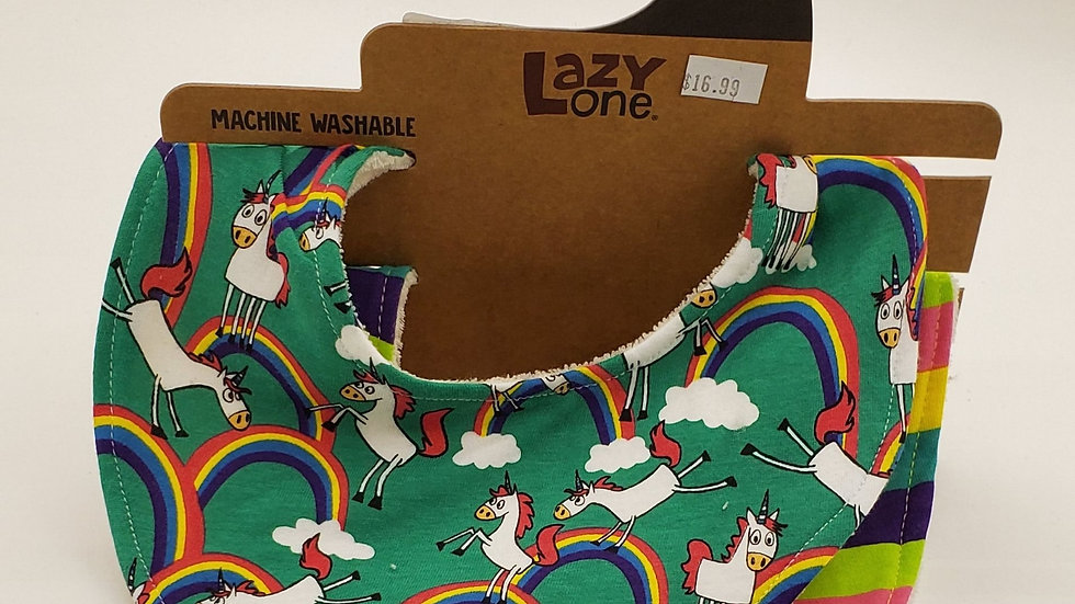 Lazy Ones Unicorn Bandana Bib