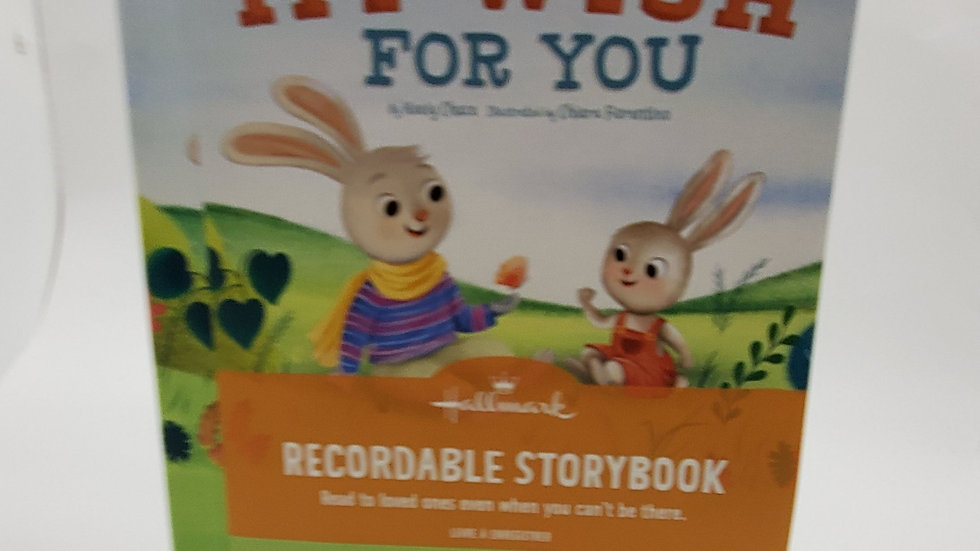 My Wish for You Recordable Book