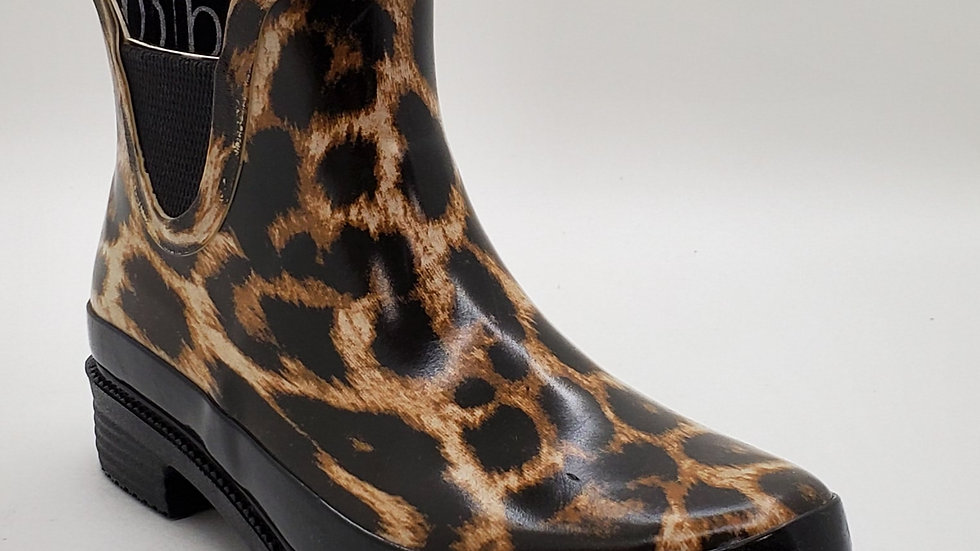 Raine Boot leopard print