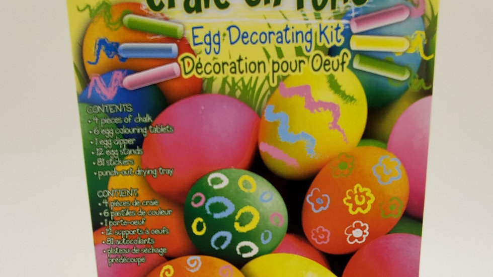Easter Egg Kit Chalk Fun