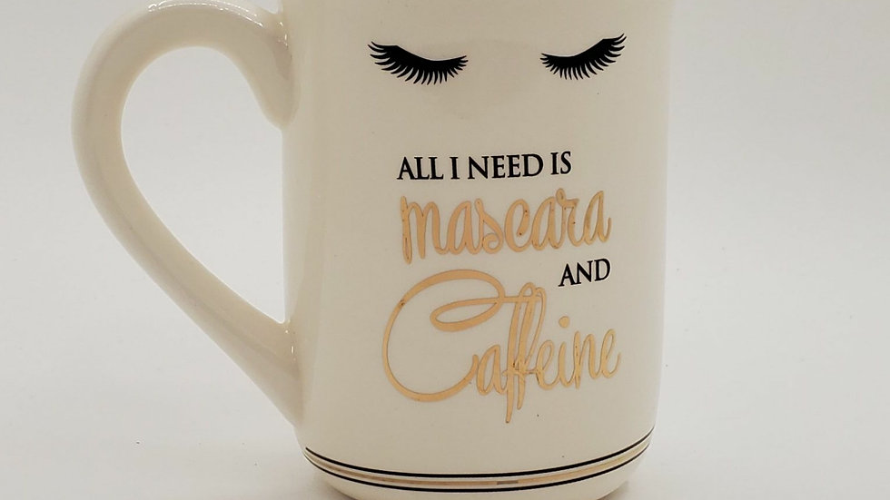 All I need is Mascara mug