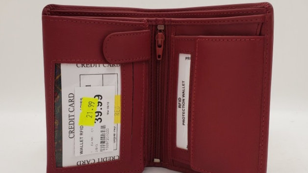 Fold Wallet Red